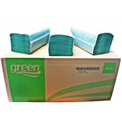 Ręcznik papierowy składany V (ZZ) 4000 szt. zielony