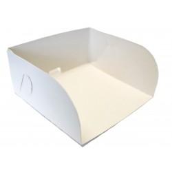 Karton szufelka na ciasto 18x25x6 100 szt. składany