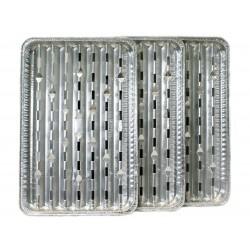 Tacki aluminiowe do grilla 3 szt.