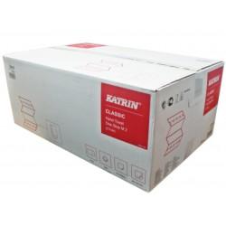 Ręcznik ZZ składany papierowy biały do rąk / karton