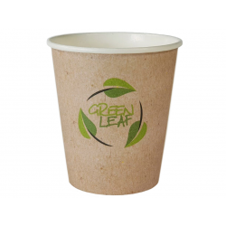 Kubki papierowe 0,25 l/50 szt. jednorazowe do kawy EKO