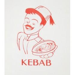 Torebki do kebaba 200 szt. 17x14,5 cm
