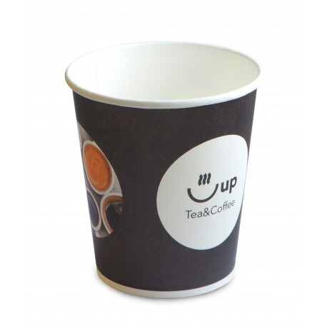 Kubki papierowe 0,25 l/50 szt. jednorazowe do kawy