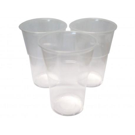 Kubki jednorazowe plastikowe 300 ml przezroczyste