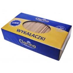 Wykałaczki drewniane 65 mm LUZ 1000 szt.