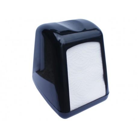 Dyspenser do serwetek 17x17 cm czarny stożkowy