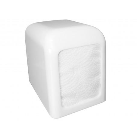 Dyspenser do serwetek 17x17 cm biały prostokątny