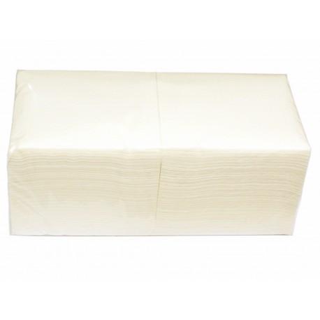 Serwetki papierowe białe 24x24 cm a500 składane 1/4