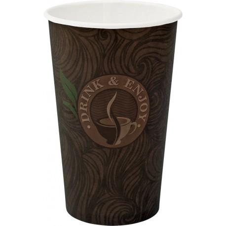 Kubki papierowe 0,4 l/50 szt. jednorazowe do kawy