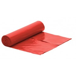 Worki na śmieci LDPE 60l 50szt czerwone