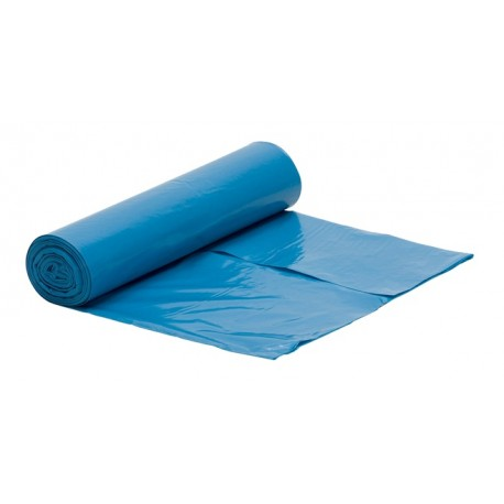 Worki na śmieci LDPE 60l 50szt niebieskie