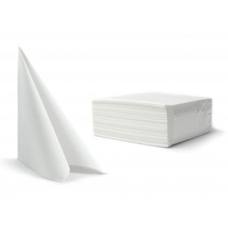 Serwetki białe fizelinowe 40x40 cm a50