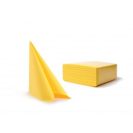 Serwetki żółty fizelinowe 40x40 cm a50