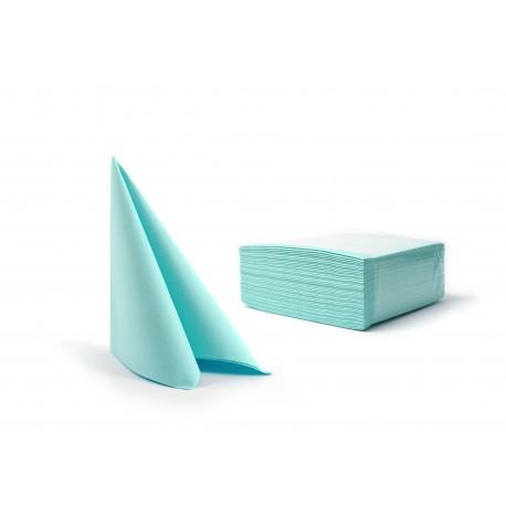 Serwetki błękitny fizelinowe 40x40 cm a50