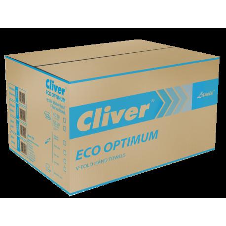 Ręcznik papierowy składany ECO OPTIMUM V (ZZ) 4000 szt. zielony / karton