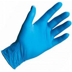 Rękawiczki nitrylowe bezpudrowe rozm. L 100 szt. niebieskie