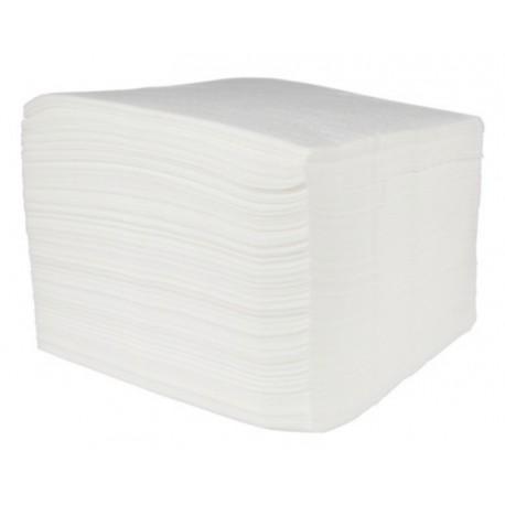 Serwetki papierowe białe 33x33 cm a500 składane 1/4