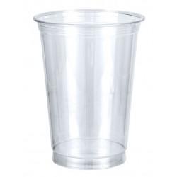 Kubki do shake'ów jednorazowe plastikowe 400 ml przezroczyste