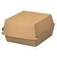 Kartonik opakowanie XLL na hamburgera szare kraft a50