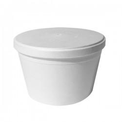 Pojemniki miski styropianowe na zupę 460 ml a25